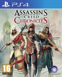 Assassins Creed Chronicles (PS4 & XB1) £14.99 Pre-owned @ Graingergames