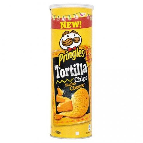 Pringles Tortilla Nacho Cheese 65p @ Tesco instore - Vauxhall