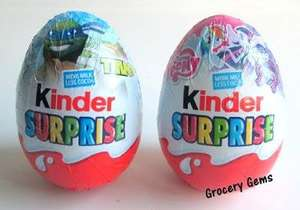 Kinder Suprise Egg (Individual) new TMNT and Pony ones 2 for £1 @ Morrisons