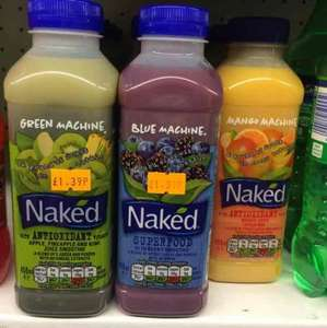 naked smoothies @ Costcutter