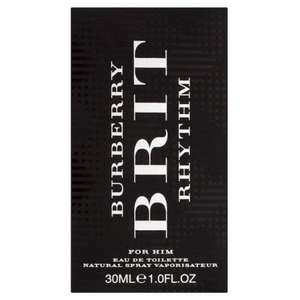 BURBERRY BRIT RHYTHM MAN EDT 30ML @ eBay / Superdrug