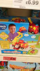 toot toot drivers big fire engine set £6.90 @ sainsburys  in store