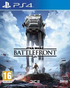 Star Wars battlefront day one edition for PS4 £27.99 @ Amazon