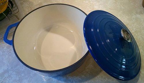 aldi- cast iron 4l casserole dish £10