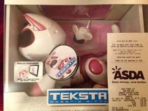 Telstra robotic kitty, pink and white with mouse £15 from £60. @ Asda - Norwich