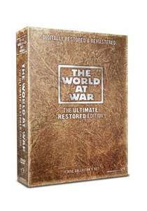 The World at War: The Ultimate Restored Edition DVD Boxset £13.00 with Free Delivery (Blu-Ray also available but is £30) @ Network On Air