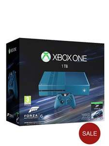 Xbox One 1Tb Console with Forza Motorsport 6 £299 @ Littlewoods delivered free with collect +