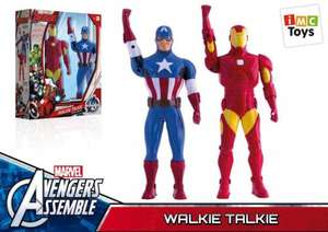Avengers Walkie Talkie Figures (2 in a pack) (Was £30) now £7.50 @ Asda instore