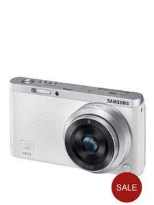 Samsung NX Mini mirrorless Camera (1080p, 3 inch touch screen, 9mm lens) £159 @ Very.co.uk
