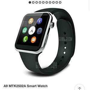A9 mtk2502a silver iOS/android smart watch £36.77 at EU warehouse GearBest