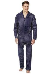 Men's F&F Tile Print Woven Pyjamas   Was £14 Now £6.00 Online. free c&c