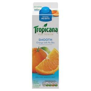 Costco Liverpool 4 x 1 Litre Tropicana Smooth BBE 28.02.2016