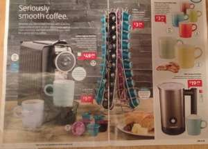 "Aldi ""Nespresso Pod Compatible"" Coffee Machine £49.99 3 year warrenty"