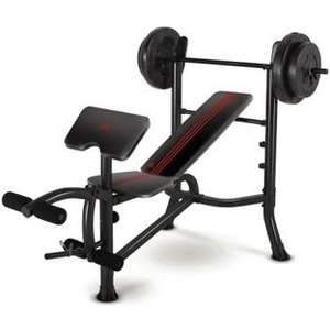 Adidas Bench and Weights Package - 45Kg @ Argos for £69.99