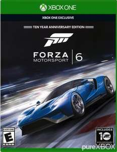Forza Motorsport 6 Ten Year Anniversary  £24.99 in Argos