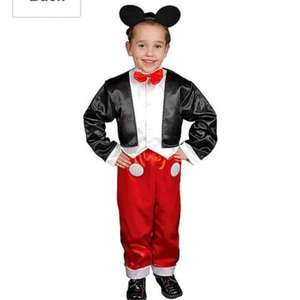 mr mouse costume handy for world book day. Age 8-10years. £2.82 Amazon (add on item / £20 spend)