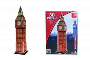 Big Ben 3D Puzzle £1.31 (add on item / £20 spend) @ Amazon