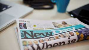 new day - new daily newspaper : 25p for first two weeks (normally 50p)