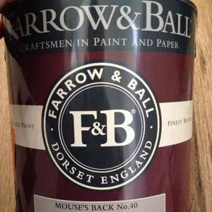 FARROW AND BALL Paint reduced to £5 a tin peterborough Homebase