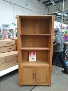 bookcase, fairly solid £83.97 @ Homebase - in store