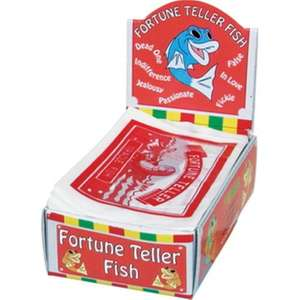 48 Fortune Telling Fish (For Party Bags Etc) £4.50 Delivered From trader-franks-ltd Ebay