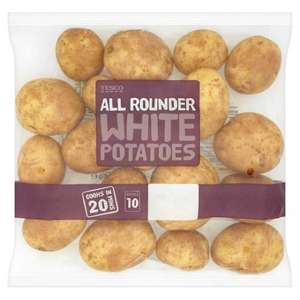 All Rounder White Potatoes 2.5Kg - £1 at Tesco