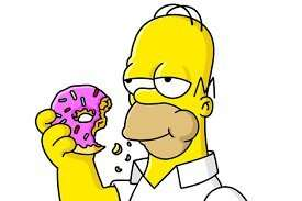 12 Simpsons 'd'oh' doughnuts £2 in Morrison's