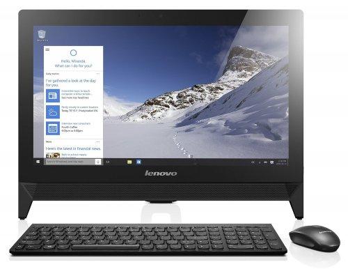 Lenovo C20 19.5 inch Full HD All-in-One Desktop (Intel Celeron N3050, 4 GB RAM, 1 TB HDD, Intel HD Graphics Card, Windows 10) - Black £259.99 @ Amazon