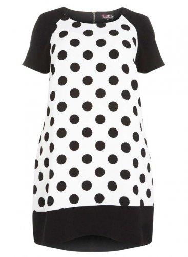 LOVEDROBE POLKA DOT DRESS £29.40 @ Evans