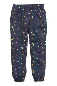 Today H&M patterned joggers only £3.99 or £2.83 and free P&P with code