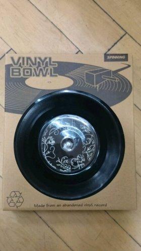"Retro 7"" record size bowl. Gloucester 99p Store!"