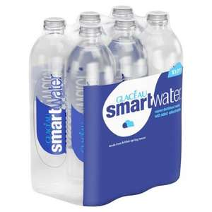 Glaceau Smartwater Multipack 6X600ml - In-Store & Online £1.10 @ Tesco