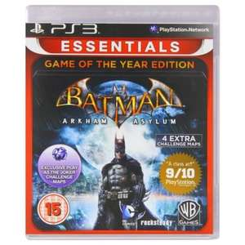 Batman Arkham Asylum Game of the Year Sony Playstation PS3 Game £4.99 @ Argos Ebay