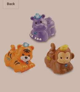 VTech Baby Toot-Toot Animals 3-Pack - Tiger, Hippo and Monkey. Was £22.99, now £10.99  (Prime) / £15.74 (non Prime) @ Amazon