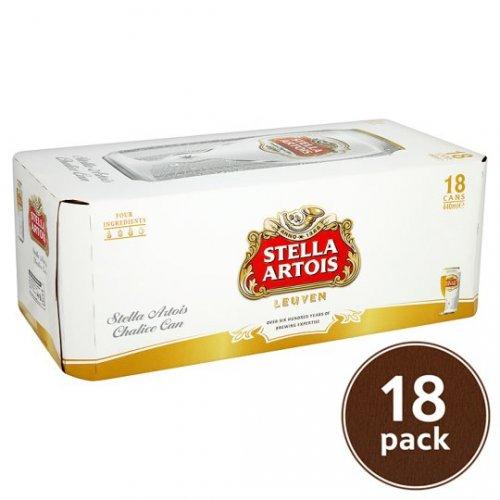 Stella Artois lager 18x440ml for £12 @ ASDA
