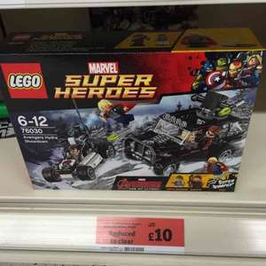 Lego 76030 Super Heroes - Avengers Hydra Showdown. £10 Sainsbury's - Bolton - Reduced to Clear.