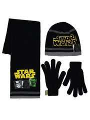 Star Wars Hat, Scarf and Gloves Set was £8.00 now £4.00 @ George (Free C&C)