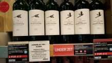 Pheasant Gully Semillon Chardonnay and Shiraz Cabernet  £4.50  In store M&S