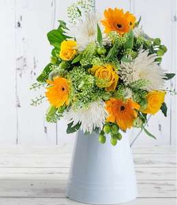 50% off The Lemon Meringue Bouquet - Now £14.99 Delivered @ Blossoming Gifts