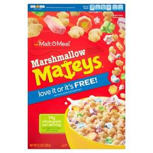 Marshmallow Mateys £2 a box in Farmfoods!