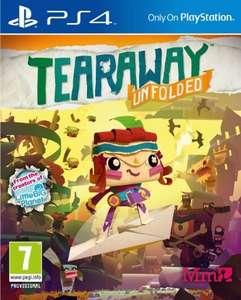 Tearaway Unfolded (PS4) £10.99 (prime) £12.98 (non prime) NEW @ Amazon