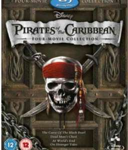 Pirates of the Caribbean 1-4 Box set (Blu Ray) £13.99 - Zavvi