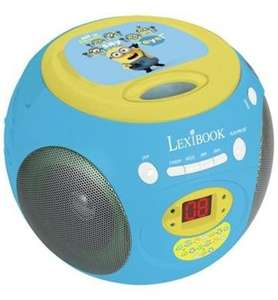 Minions (Despicable Me) CD/Radio player £12.99 delivered at Xtra-Vision (using code)
