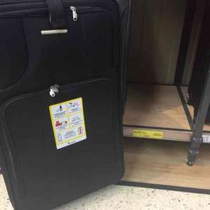 large it suitcase £25 @ Tesco instore