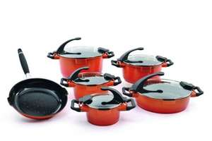 Berghoff 6 Piece Aluminium Virgo Cookware, Set of 6, Orange £299.99  @ Amazon