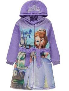 Sofia the First Dressing Gown 2-4 years Half price £5.00 @ George Free C&C Asda