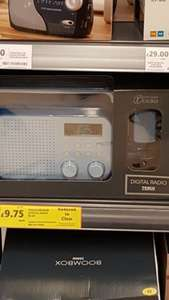 Tesco DAB Radio  in blue only £9.75 instore