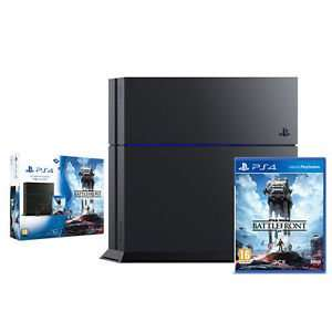 PS4 Black Console 1TB + Star Wars Battlefront £264.99 delivered from Shopto / eBay