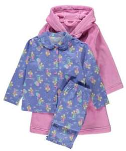 Teddy Dressing Gown and Pyjama set 18mths - 7yrs was £13 now £6 C+C @ Asda George