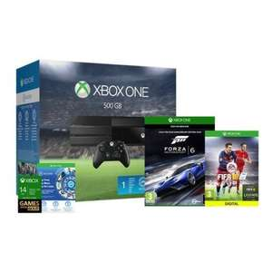 Xbox One Console With FIFA 16 & Forza 6 Plus a 3 Month's NOW TV Entertainment Pass - £259.99 - eBay/Shopto
